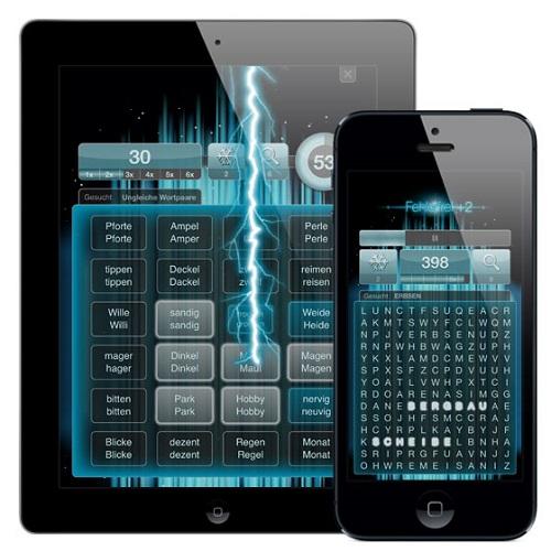 Reading Arena - Das Spiel zur App des Jahres: Gehirntraining jetzt auch im Wettkampf-Modus