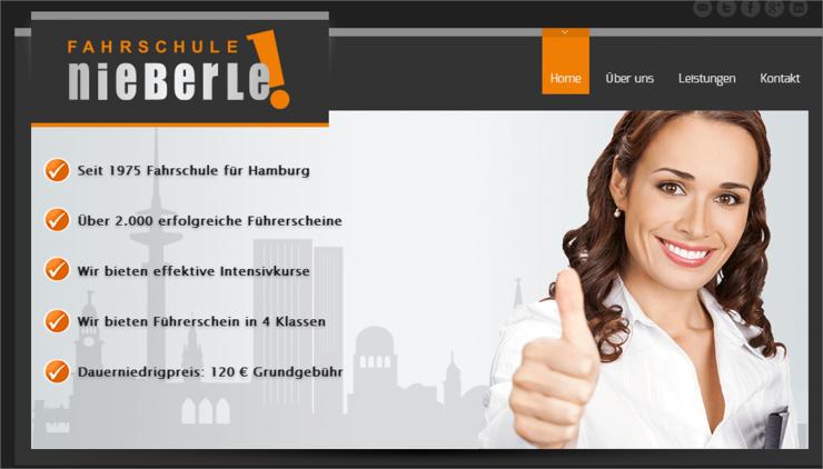 Seit 1975 Fahrschule Nieberle in Hamburg