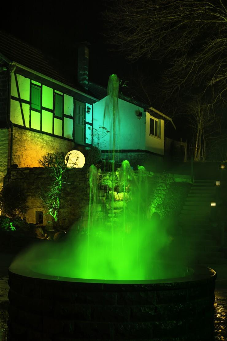 Licht von Klein zu Gast bei der Home & Garden