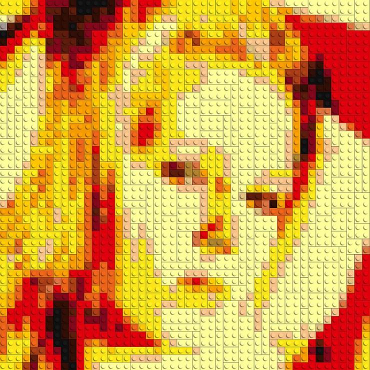 Die kreative Geschenkidee: Erstelle Dein Lego Portrait nach eigener Vorlage