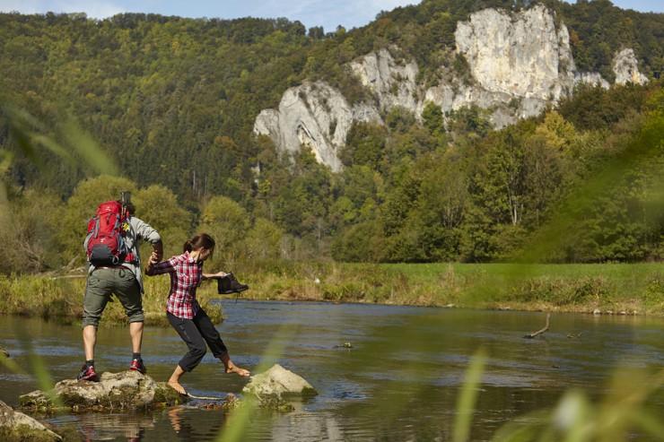 Sigmaringen eröffnet Premiumwanderwege