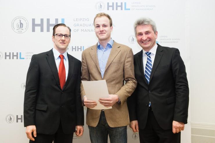 Leipziger Wohnungsgenossenschaft WOGETRA fördert Deutschlandstipendium an der HHL Leipzig Graduate School of Management