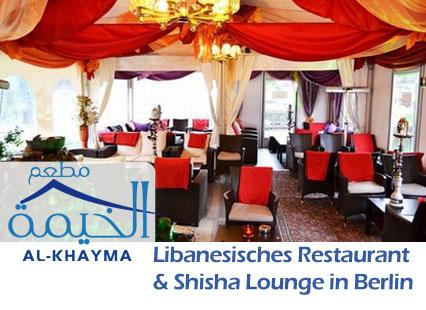 Al KHAYMA - Libanesisches Restaurant und Shisha Lounge in Berlin Mitte - Kreuzberg