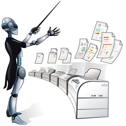 Drucken Sie Tonnen von PDF Dateien, Textdateien und Bildern mit nur einigen wenigen Klicks, indem Sie den Print Conductor 4.1 benutzen!
