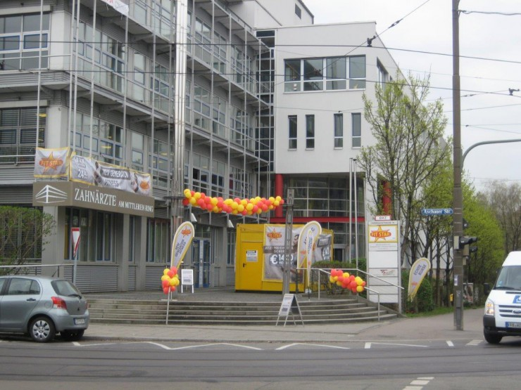 Neues Domizil für Mitglieder und Neuinteressenten des Münchner Fitness Studios FIT STAR