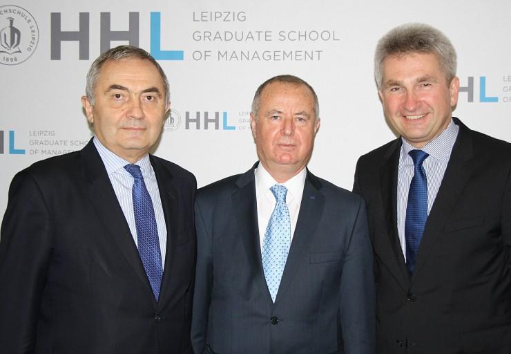HHL Leipzig Graduate School of Management besiegelt Zusammenarbeit mit rumänischer Wirtschaftsuniversität