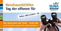 Berufsaussichten - Infotag der Münchner Berufsfachschulen