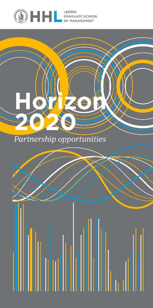 Horizon 2020. HHL Leipzig Graduate School of Management stellt sich in neuer Broschüre als Forschungs- und Praxispartner vor