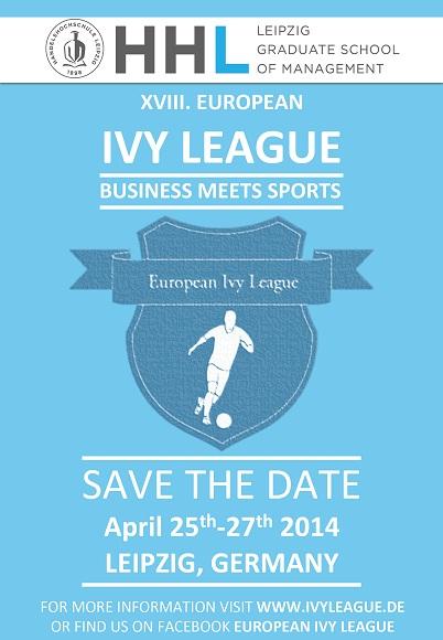 25. - 27. April 2014: Europäisches Fußballturnier an der HHL Leipzig Graduate School of Management
