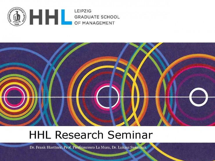 Neues Seminar der HHL Leipzig Graduate School of Management fördert Austausch der Leipziger Forschungseinrichtungen