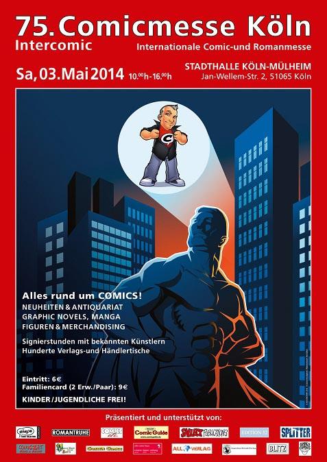 Comicmesse Köln am 03.05.2014 - Eine Maximaldosis Comic