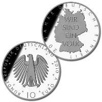 Zehn-Euro-Silbermünzen vor dem Aus?