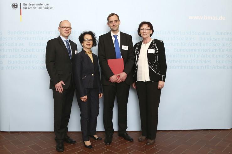 Heinz von Heiden GmbH Bauleistungszentrum als Unternehmen mit Weitblick ausgezeichnet