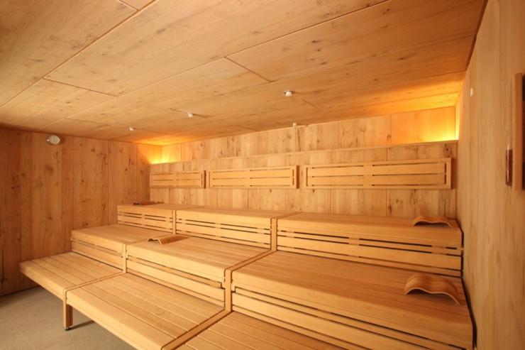 Sauna mit Meeresreizklima