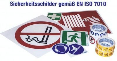 Sicherheitsschilder gemäß ISO 7010 - Mehr Sicherheit am Arbeitsplatz