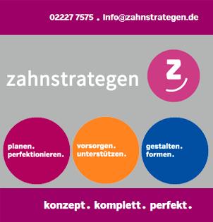 ZAHNSTRATEGEN - Ihre Zahnarztpraxis in Bornheim-Merten bei Bonn mit neuem Profil.