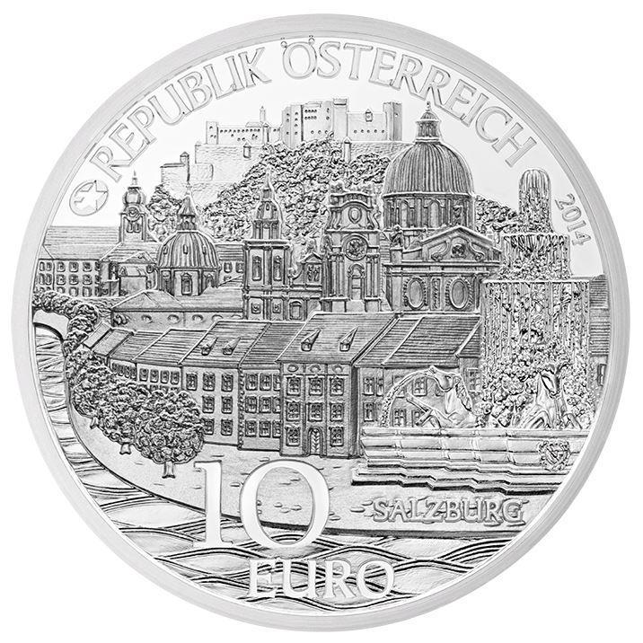 Eine Münze für die Mozartstadt: die Salzburg Münze aus Silber ist da