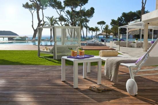 ME Hotel Mallorca in Magaluf jetzt eröffnet -mit Ventilatoren von Casa Bruno
