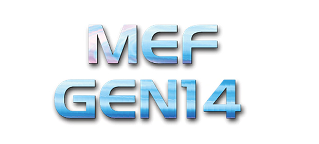 MEF Global Ethernet Networking 2014 (GEN14) verzeichnet 11 weitere Sponsoren