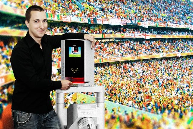 WM-Feeling inklusive: SKIDATA Mitarbeiter erleben das Fußball-Event live vor Ort