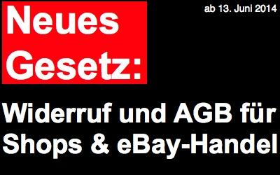 Händlerschutz warnt vor drohender eBay Abmahnwelle ab 13.06