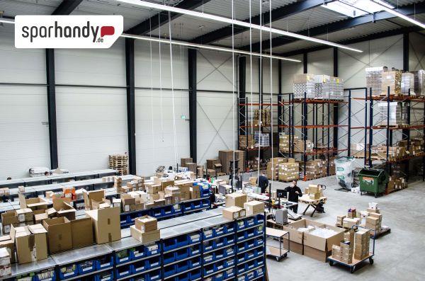Sparhandy steigert Logistik-Kapazitäten um 300 Prozent auf bis zu 1 Million Pakete pro Jahr