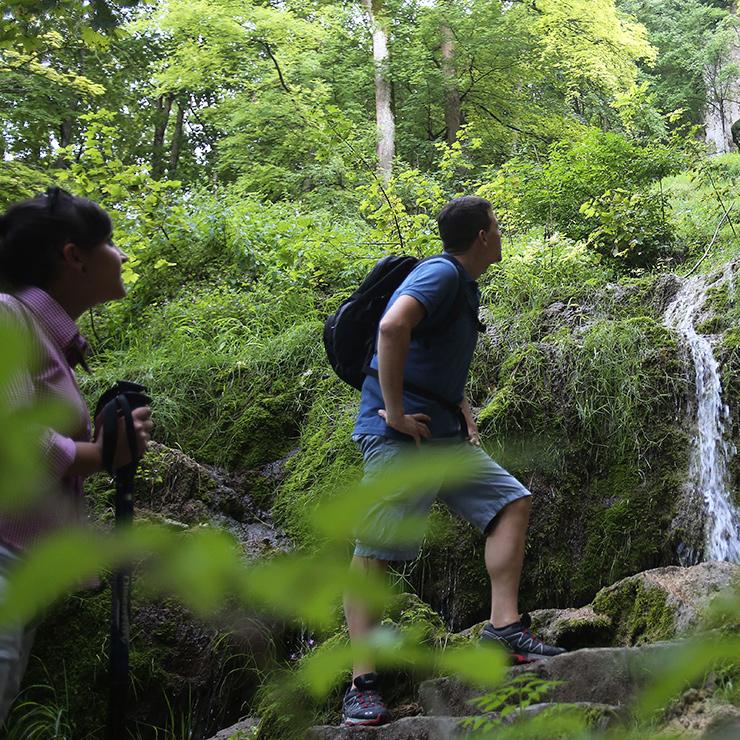 Wasserfallsteig - Premiumwandern auf den Grafensteigen Bad Urach
