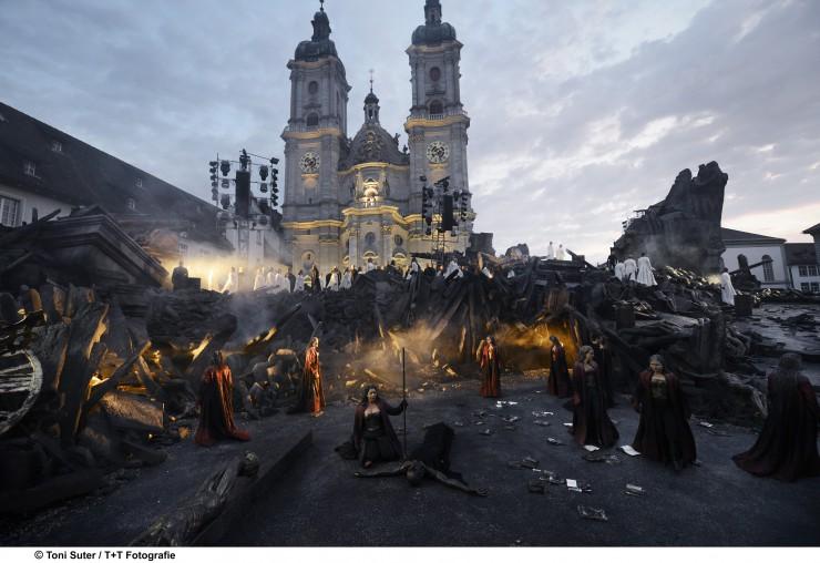 Spanisches Liebesdrama vor dem UNESCO-Weltkulturerbe