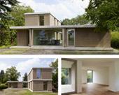DIE NATUR IM BLICK - Wohngesundes Einfamilienhaus im Bauhausstil