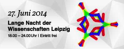 Campus Jahnallee: Programm zur Langen Nacht der Wissenschaften Leipzig am 27. Juni 2014