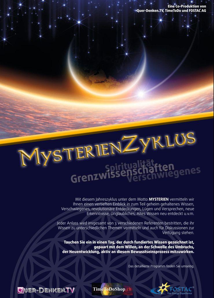 MysterienZyklus der FOSTAC AG: Grenzwissenschaften, Spiritualität und Verschwiegenes