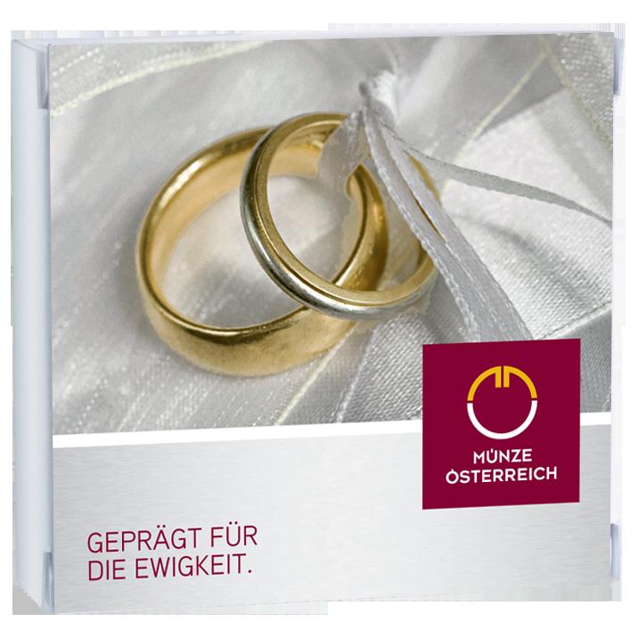 Geld in seiner schönsten Form schenken: Hochzeitsgeschenke von Münze Österreich