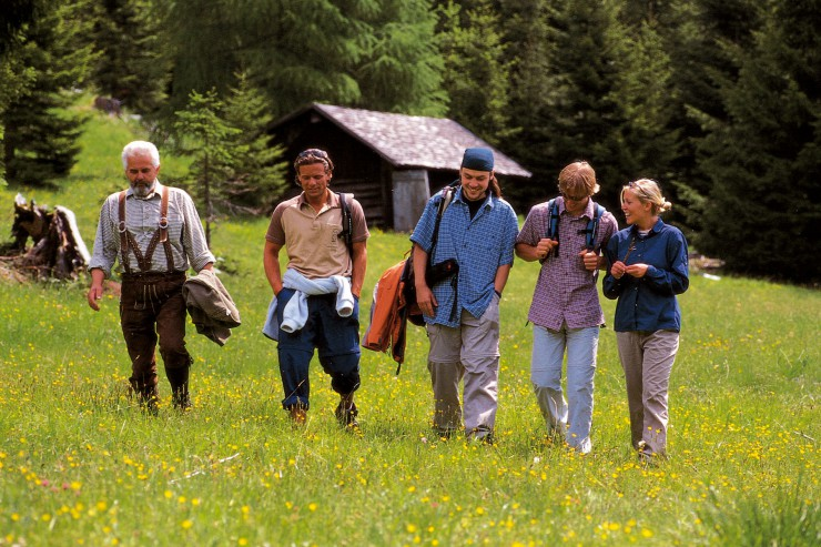 Geteiltes Glück ist doppeltes Glück - Geführte Wanderungen in den Tiroler Alpen