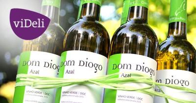 Portugiesischer Vinho Verde - superfresh, und viel besser als der portugiesische Fußball