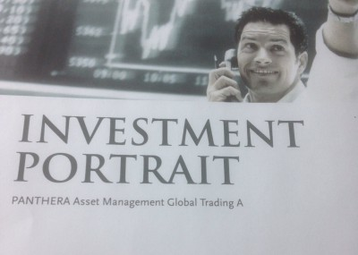 PANTHERA Asset Management Global Trading A - Anlegergelder verzockt ?