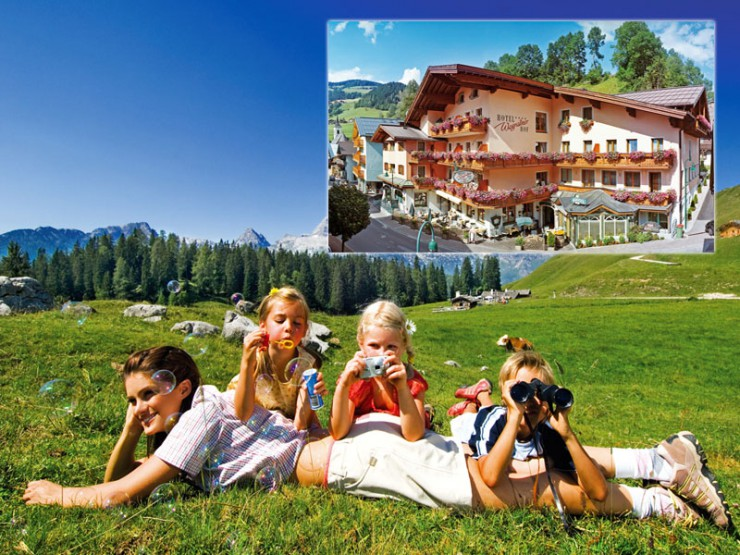 Sommer- Familien- Rad & Wanderurlaub im Hotel Wagrainerhof in Salzburg