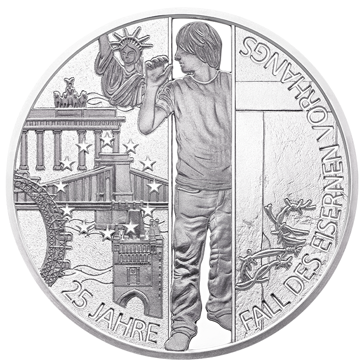 Erinnerung an einen denkwürdigen Moment: 25 Jahre Fall des Eisernen Vorhangs bei Münze Österreich