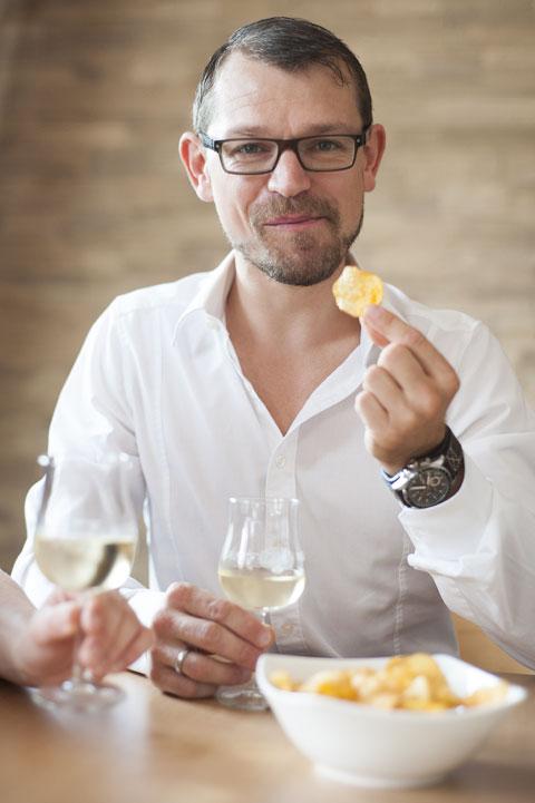 Deutsche mögen es zum Wein eher salzig