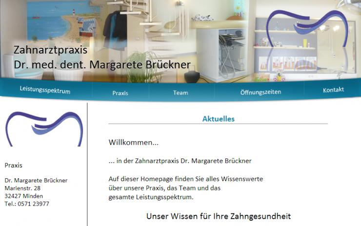 Das neue Gesicht in der Zahnarztpraxis von Frau Dr. Brückner in Minden