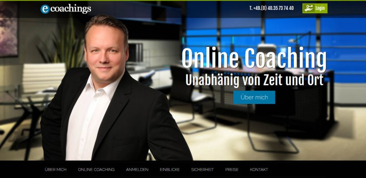 ecoachings.de - Online-Business-Coaching für zeitintensive und mobile Berufe als flexible Option zum Vorort-Coaching