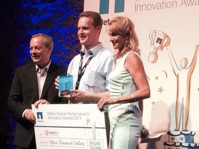 teamix GmbH gewinnt den EMEA Partner Marketing Award der Firma NetApp