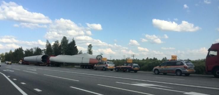 Spezialtransport bringt frischen Wind nach Kasachstan