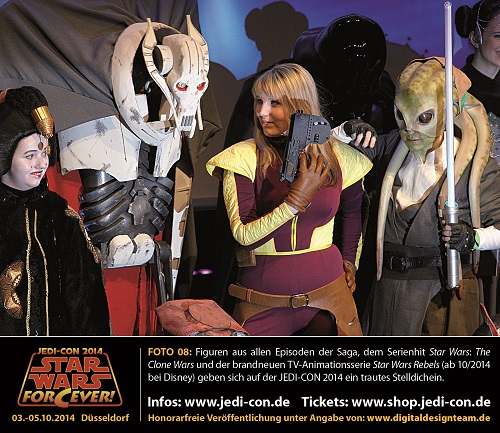 Terminankündigung: Star Wars-Convention 2014 in Düsseldorf