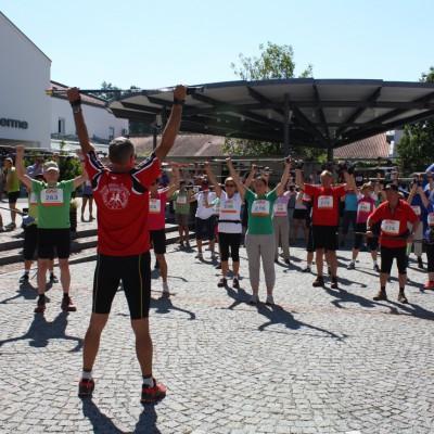In Bad Griesbach wird jeder zum Marathon-Walker
