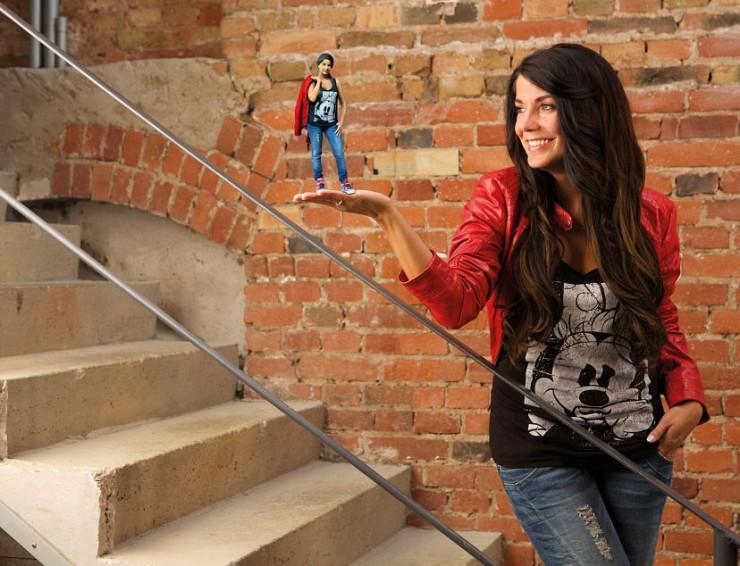 PrintYourSelf ermöglicht mit eigens entwickelter Aufnahmetechnik auch 3D-Miniaturen von Kindern und Tieren