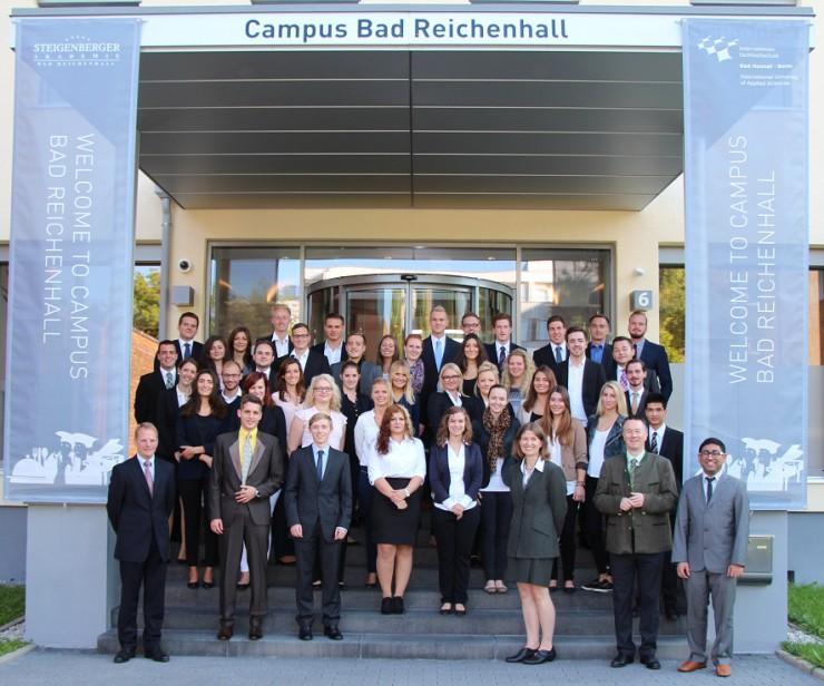 IUBH Campus Bad Reichenhall begrüßt neue Erstsemester