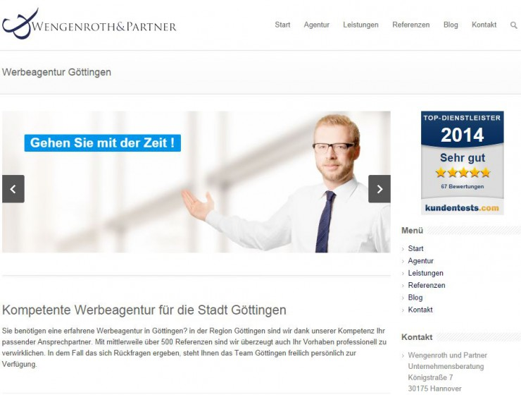 Markt von Werbeagenturen in Göttingen wächst