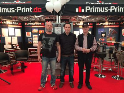 Erfolgreicher Auftritt von Primus-Print.de bei regionaler Gewerbeschau