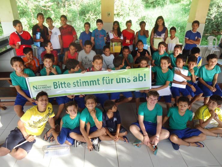 Kleiner Nazareno im Finale um den Deutschen Engagementpreis 2014