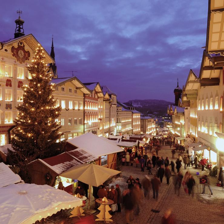 Traditioneller Christkindlmarkt in Bad Tölz